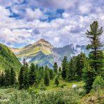 Berge Sibirien