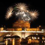 Feuerwerk Rom Engelsbrücke