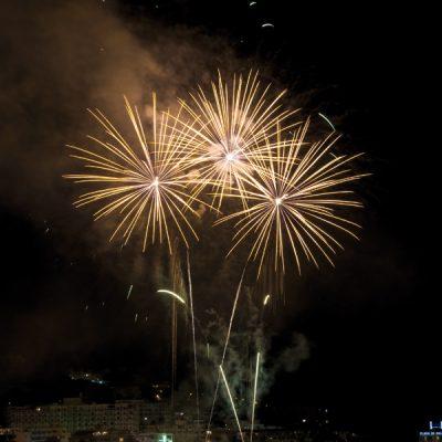 Feuerwerk Mallorca Hafen